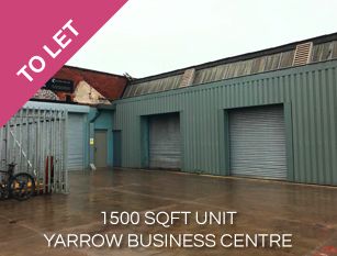 To Let 1500 sqft Unit at Yarrow Mill Chorley