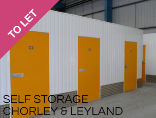 Self Storage Units To Let Chorley and Leyland